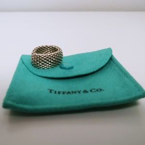 💍 Tiffany & Co. Somerset Mesh Ring